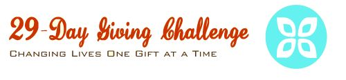 29-Day Giving Challenge