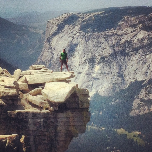 Half Dome, The Visor
