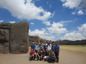 Saksaywaman was a fort set high above Cusco built with massive and impressive carved and pieced together stones